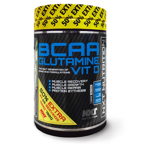 NXT BCAA/Glutamine & Vitamin D Image