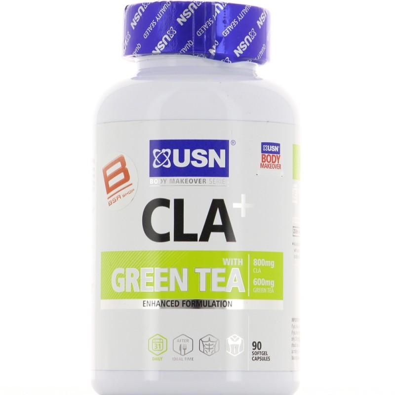 USN CLA + Green Tea 90 caps Image