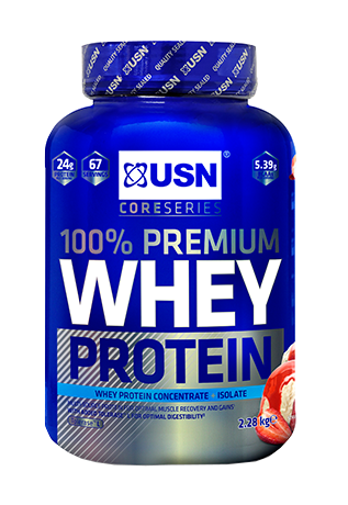 USN 100% Premium Whey 2.28kg Image